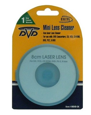 Digital Concepts Lens Cleaner for DVD Camcorders