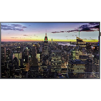 QM49H - Edge-Lit 4K UHD LED Display for Business