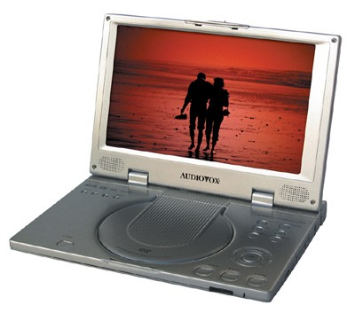 D2010 Portable 10.2 inch WideScreen ultra slim DVD Player