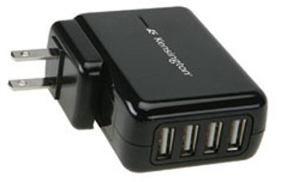 4-Port USB Charger for Mobile Devices (38035)