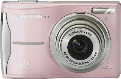 FE-46 12MP Digital Camera w/ 5x Optical Zoom, 2.7 inch LCD (Pink)
