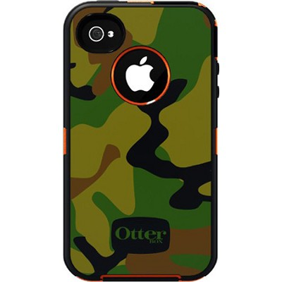 Defender Series Case for iPhone 4/4S - Blaze Jungle Camo