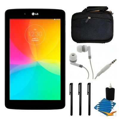 G Pad V 400 8GB 7.0` WiFi Black Tablet and Case Bundle