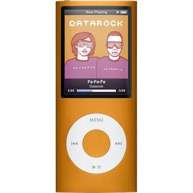 iPod Nano 4th Generation 8GB MP3 Player - Orange
