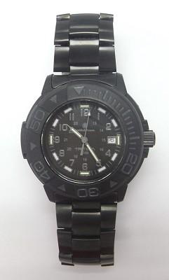 Men's SWW-900 Tritium H3 Basic Round Black on Black Watch