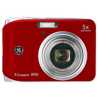 A950 9.1MP 2.5` LCD 5x Zoom Digital Camera (Red)