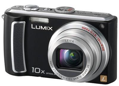DMC-TZ5K - 9 Megapixel Digital Camera (Black) w/ 3- inch LCD