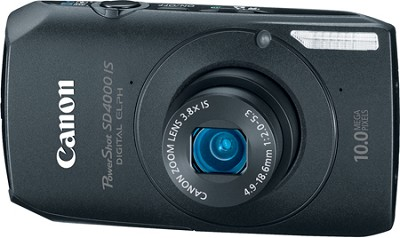 Powershot SD4000 IS 10.1 MP Digital ELPH Camera (Black)
