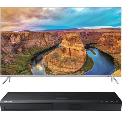 65` SUHD Smart LED TV - UN65KS8000 + Samsung UBDK8500 4K UHD Blu-Ray Player