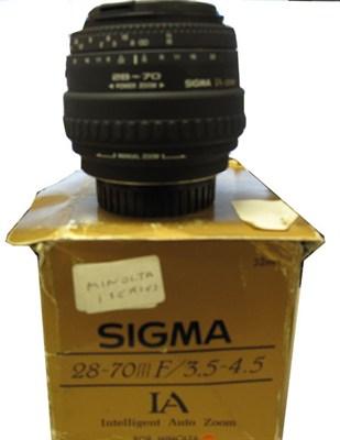 28-70mm F3.5-4.5 Lens for Minolta Camera - OPEN BOX