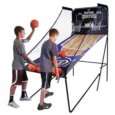 Spalding Courtside 2-Player Arcade Basketball Game - SP45-6817
