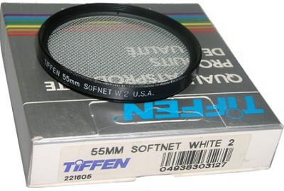 55mm Softnet White 2 Effect Glass Filter
