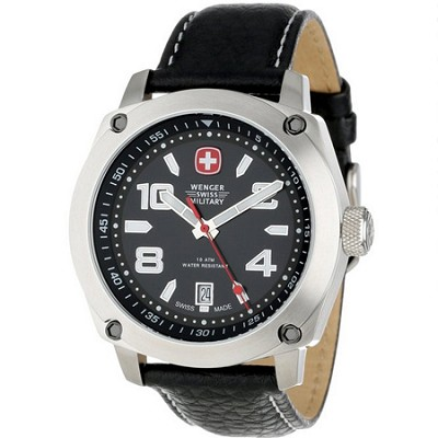 Outback Men's Watch, Black and White Dial, Black Strap - 79375