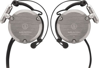 ATH-EM7 GM Import Series Adjustable Aluminum Clip-On Headphones