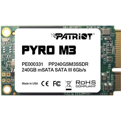Pyro M3 240GB mSATA Internal Solid State Hard Drive