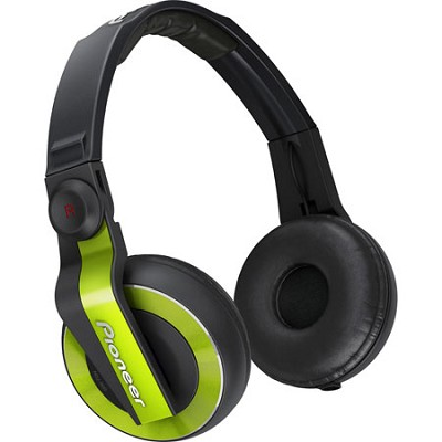 HDJ-500 DJ Headphones, Lime Green