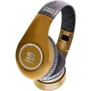SOUL by Ludacris SL300GG High Definition Noise Canceling Headphones (Gold)