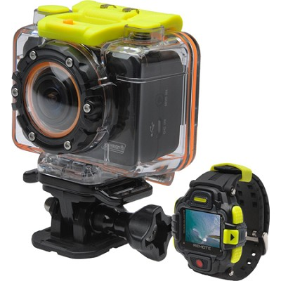 Bravo 2 1080p 30fps/5.0 MP POV Sports Camera w/WiFi and Color LCD Watch