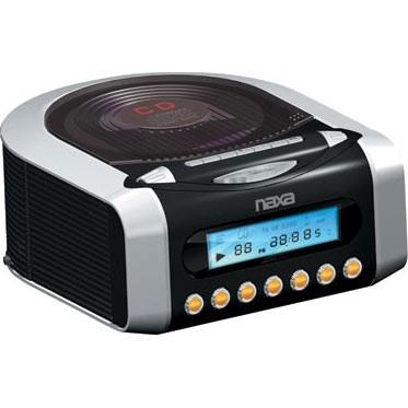 NRC-157 Digital Alarm Clock With Digital Tuning AM/FM Radio & CD Player