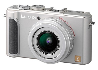 DMC-LX3S 10 MP Digital Camera with 2.5x Optical Zoom (Silver)