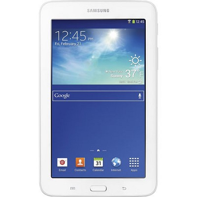 Galaxy Tab 3 Lite 7.0` White 8GB Tablet - 1.2 GHz Dual Core Processor