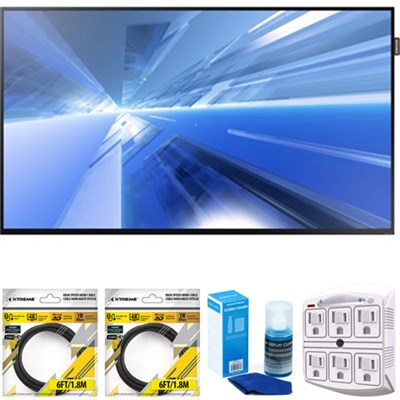 40` 1080p Direct-Lit LED Display DM40E with Cleaning Bundle
