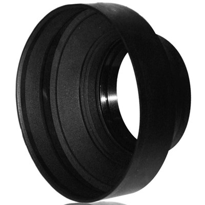 72mm Heavy Duty Rubber Lens Hood - APSLH72