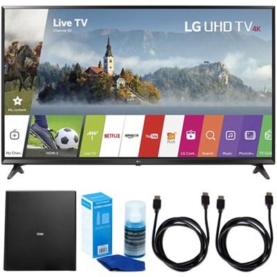 55-inch 4K Ultra HD Smart LED TV (2017 Model) with Indoor Antenna Bundle