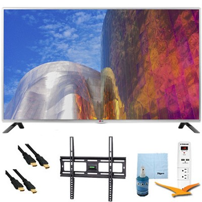 60LB5900 - 60-Inch Full HD 1080p 120hz LED HDTV Plus Mount & Hook-Up Bundle