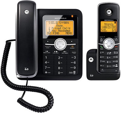 L402C DECT 6.0 Corded/Cordless Combo Phone