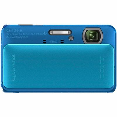 Cyber-shot DSC-TX20 16.2 MP Waterproof Shockproof 3DSweep Camera (Blue) OPEN BOX