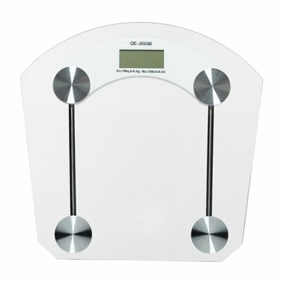 Digital Hi-Tempered Glass Bathroom Scale - OPEN BOX