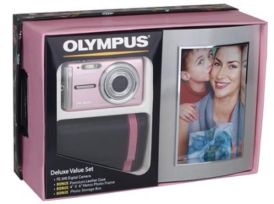 FE-340 8MP Digital Camera Kit