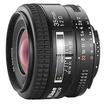 35mm F/2D AF Nikkor Lens, With Nikon 5-Year USA Warranty