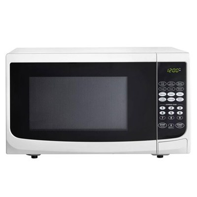 0.7 cu.ft. 700 watt Countertop Microwave, White