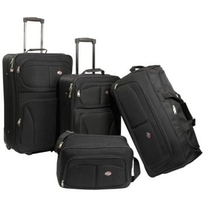 Fieldbrook Four-Piece Luggage Set (Black)