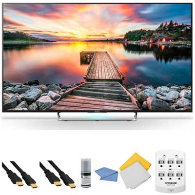 KDL-65W850C - 65-Inch Full HD 1080p 3D Smart LED HDTV + Hookup Kit