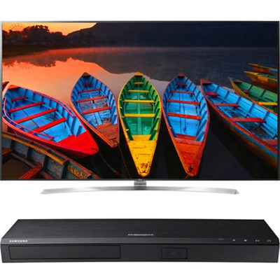 75` Super UHD Smart LED TV - 75UH8500 + Samsung 4K UHD Smart Blu-ray Player