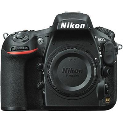 D810A FX-Format 36.3MP Full-Frame Digital SLR Camera Body - OPEN BOX