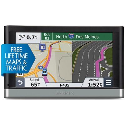 nuvi 2597LMT 5` Bluetooth GPS with Lifetime Maps,Traffic Refurb 1 Year Warranty