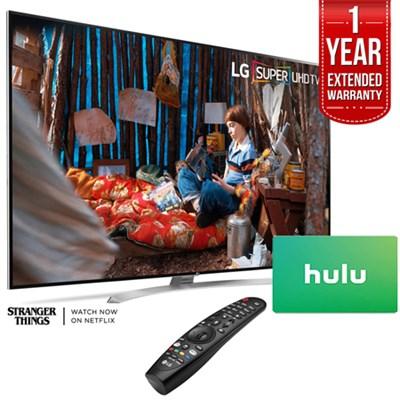 SUPER UHD 86 4K Smart HDR LED TV + $100 Hulu Card & 1 Year Warranty