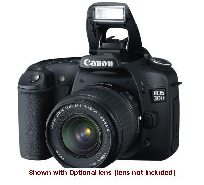 EOS 30D SLR Camera Body - REFURBISHED