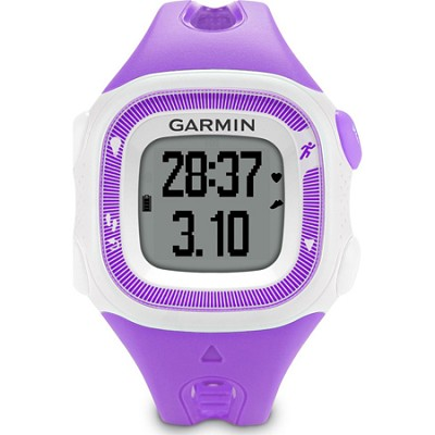 Forerunner 15 Heart Rate Monitor Bundle Small - Violet/White