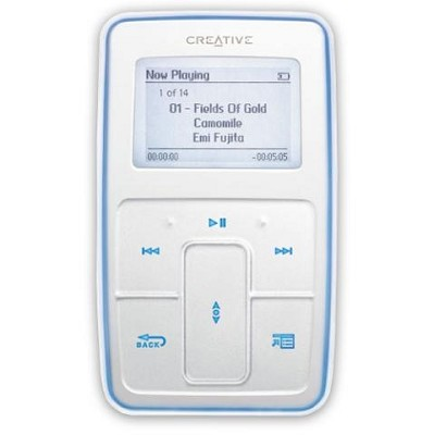 Zen Micro {White} 5gb MP3 Player-(Holiday gift last Item)