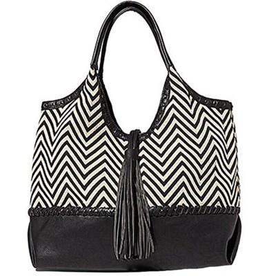 Portofino Shoulder Bag - Zig Zag