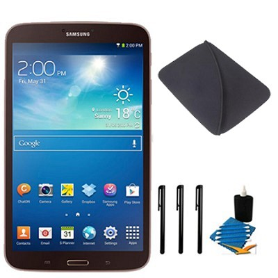 Galaxy Tab 3 (8-Inch, Gold-Brown) Essentials Bundle