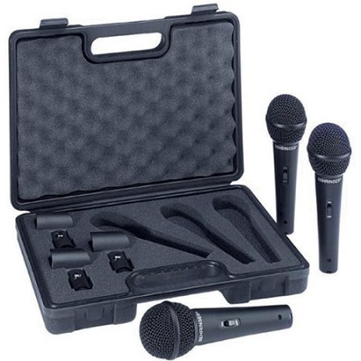 XM1800S - Dynamic Cardioid Vocal Microphones, 3-Pack