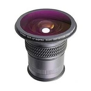 DCR-CF187 Pro High Definition Full-Frame 185 Degree Fisheye Conversion Lens