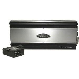 5 Channel Amplifier Stereo 70W RMS x 4 @ 4-Ohm, 90W x 4 @ 2-Ohm Mono-Sub- 200W x