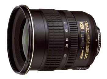 12-24mm F/4G ED-IF AF-S DX Zoom-Nikkor Lens - REFURBISHED